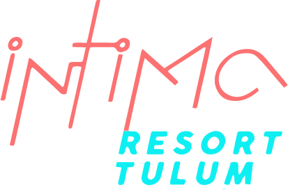 Intima Tulum Clothing Optional Resort Riviera Maya logotipo