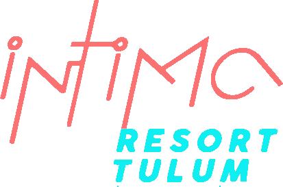 Intima Tulum Clothing Optional Resort Riviera Maya logotipo